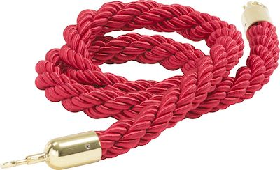 Barrier system, rope