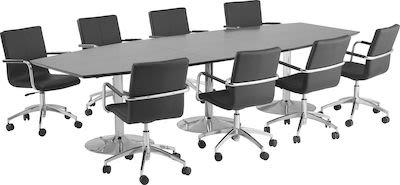 Conference package table and 8 chairs