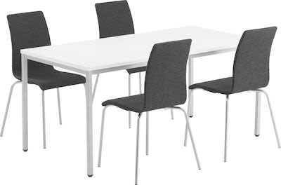 Conference package table and 4 chairs