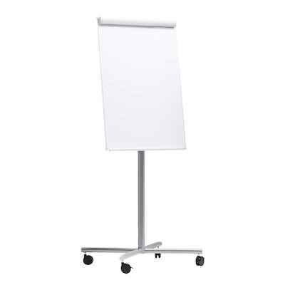 Mobile flip chart stand + whiteboard