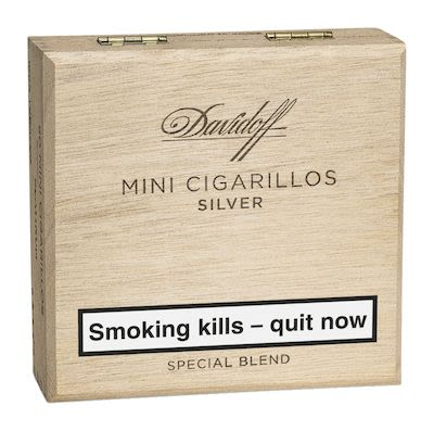 Davidoff Mini Cigarillos Silver 50pcs