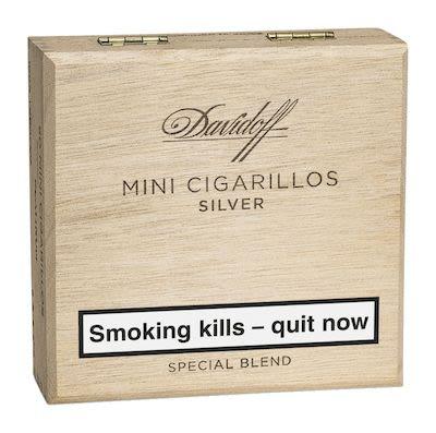Davidoff Mini Cigarillos Silver 50sTPD2