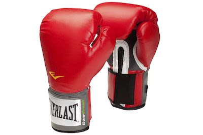Everlast Red Boxing Glove - 10 oz