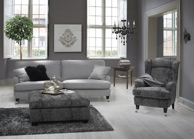 3-seater Kingston Fabric Couch