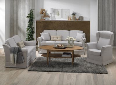 2-seater Eden Fabric Couch