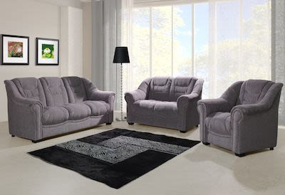 3-seater Oliwer Fabric Couch