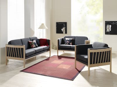 3-seater Julie Fabric Couch