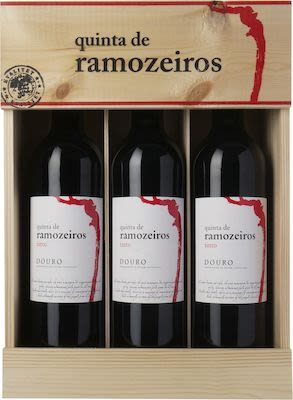 Quinta de Ramozeiros Tinto Douro D.O.C. In wooden box 3x75 cl.  - Alc. 14% Vol.