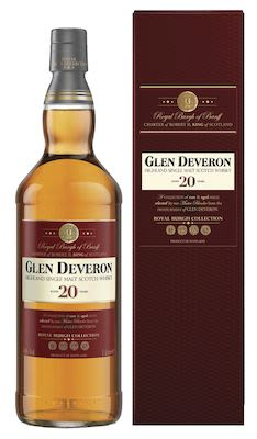 Glen Deveron 20 YO, 100 cl. - Alc. 40% Vol. In gift box. Highland.