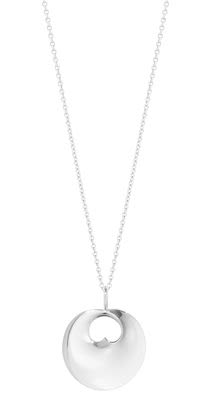 GJ Ladies Hidden Heart Necklace