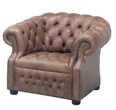 Chesterfield London Low Chair