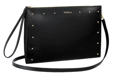 Furla Ladies' Janine Leather Handbag, Black