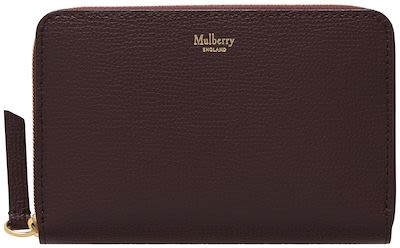 Mulberry Ladies' Medium Zip Around Wallet