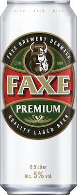 Faxe Premium 24x50 cl. cans. - Alc. 4.6% Vol.
