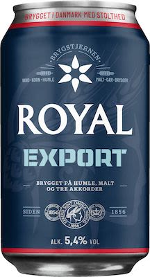 Royal Export 24x33 cl. cans. - Alc. 5.8% Vol.