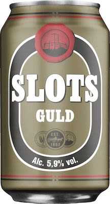 Slots Gold 24x33 cl. cans. - Alc. 5.9% Vol.
