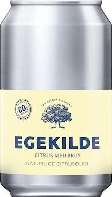 Egekilde Sparkling Citrus 24x33 cl. cans.