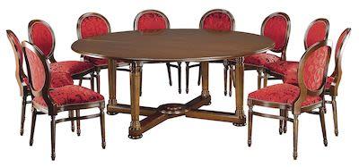 2x Walnut Chairs