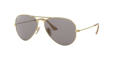 Ray-Ban Gent's Aviator Large Metal Sunglasses