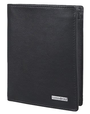 Samsonite S-Derry SLG Unisex Black leather wallet