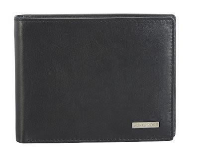 Samsonite S-Derry SLG Unisex Black leather wallet