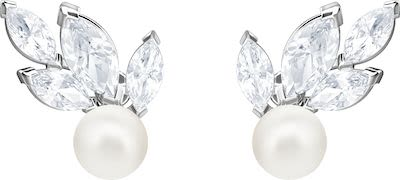 Swarovski Ladies' Louison Pearl Earrings