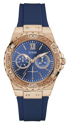 Guess Ladies' Limelight Blue/Rosegold Watch