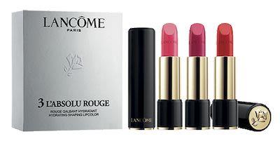 Lancôme L'Absolu Rouge Trio Lipsticks