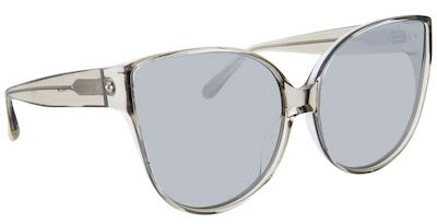 Linda Farrow Ladies' Cat Eye Acetate Truffle Sunglasses