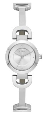 DKNY Ladies' City Link Silver Watch