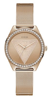 Guess Ladies' Tri Glitz Rosegold Watch