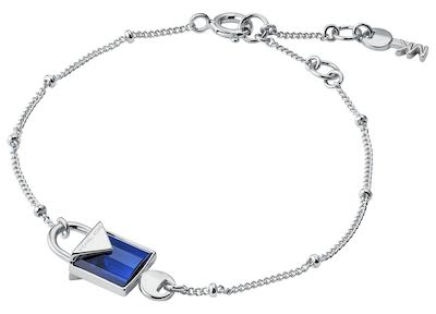 Michael Kors Ladies' Blue Padlock Bracelet