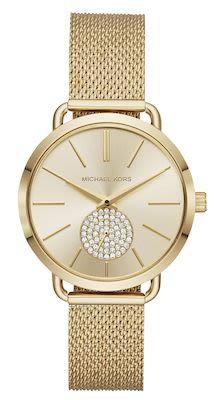 Michael Kors Ladies' Portia Gold Watch