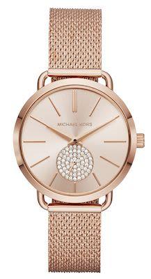 Michael Kors Ladies' Portia Rose Gold Watch