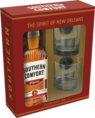 Southern Comfort 100cl. - 35%  Vol. In gift box.