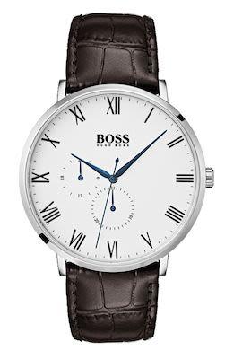 Hugo Boss Gent's White William Watch