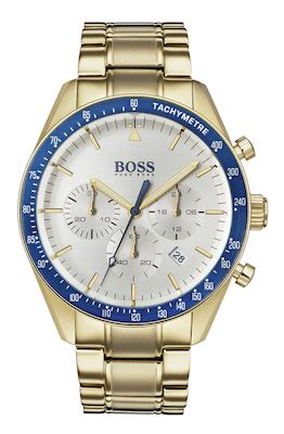 Hugo Boss Gent's Gold Trophy Watch