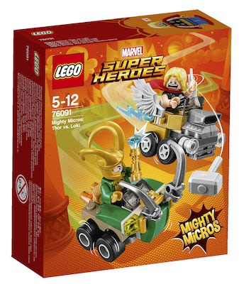 Lego Marvel Super Heroes Mighty Micros