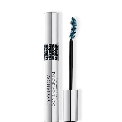 Diorshow Iconic Overcurl Waterproof Spectacular Volume & Curl Professional Mascara  N°091 Over Noir / Over Black 10 ml