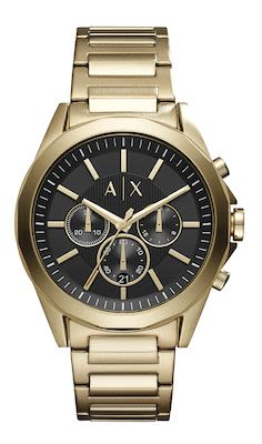 Armani Exchange Drexler Gent's Gold Watch