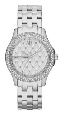 Armani Exchange Lady Hampton Ladies' Silver Watch