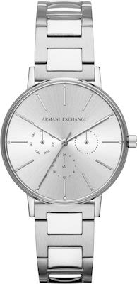 Armani Exchange Lola Ladies' Silver Watch