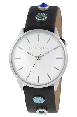 Thom Olsen Ladies' Gypset Silver Watch