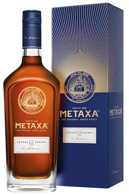 Metaxa 12 Star Brandy 100 cl. - Alc. 40% Vol.