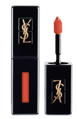 YSL Vernis a Lèvres Vinyl Cream Lipstick N° 406 Orange Electro 6 ml