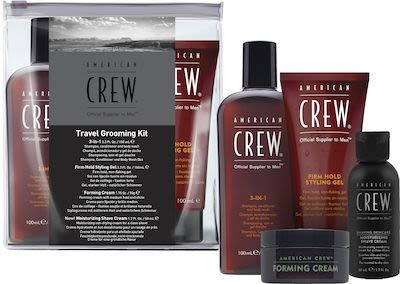 American Crew Travel Grooming Set