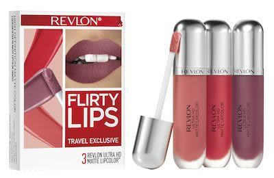 Revlon Ultra HD Matte Trio Flirty Lips