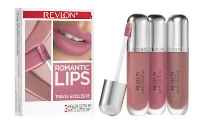 Revlon Ultra HD Matte Trio Romantic Lips