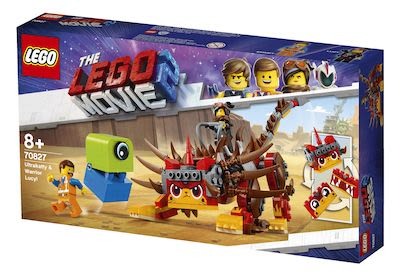 Lego Movie 70827 Ultrakatty & Warrior Lucy