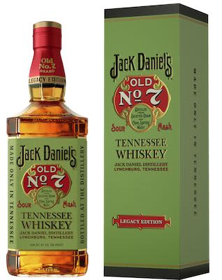Jack Daniel's Old No. 7 Legacy Edition 100 cl. - Alc. 43% Vol. In gift box.